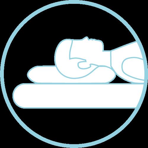 neck pain pillow for medium frame back sleepers