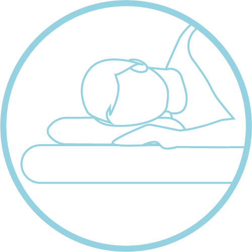 neck pain pillow for wide frame side sleepers