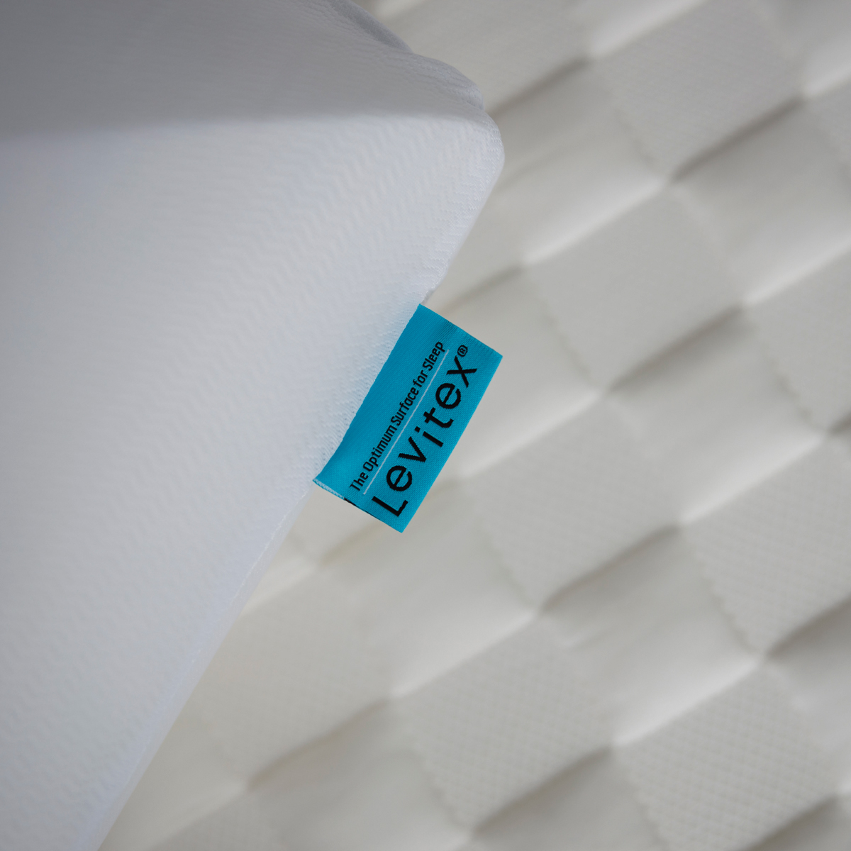 close up of the surface of the back pain mattress