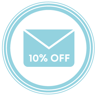 10% envelope icon